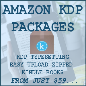 Amazon KDP publishing services